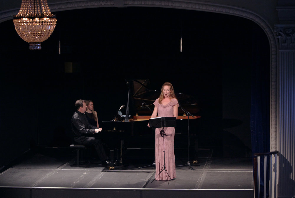 ALMA MAHLER: MUSE OR MONSTER? - october 1, 2014. 20th century theater, londonOlivia Ray, mezzo-sopranoAnia Safonova, violinOleg Kogan, celloRonan O'Hora, pianoIllustrated talk by Patrick BadeAlma Mahler - 'Laue Sommernacht' from 5 Lieder; 'Der Erkennende' and 'Lobgesang' from 5 GesängeZemlinsky - 'Irmelin Rose' from Irmelin Rose und andere Gesänge, Op. 7Gustav Mahler - 'Wenn mein Schatz Hochzeit macht' and 'Ging heut' morgen über's Feld' from Lieder eines fahrenden GesellenZemlinsky - Three Pieces for cello and piano (1891) Korngold - Piano Trio in D Major, Op. 1