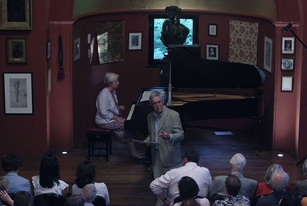 SCHUMANN'S PIANO CYCLES AND THE NOVELS OF JEAN PAUL - june 25, 2014. leighton house, londonSusan Tomes, piano  Illustrated talk by Robert PhilipSchumann - Davidsbündlertänze, Op.6; Papillons, Op. 2