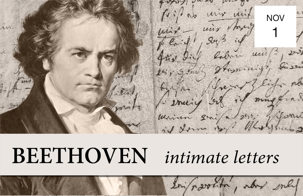 BEETHOVEN. INTIMATE LETTERS - Thursday, November 17:30 PMItalian Academy of Columbia University1161 Amsterdam AveAriel String QuartetIllustrated talk by the musiciansBeethoven String Quartets Op. 18 No. 1 & Op. 131Read MoreTICKETS $45