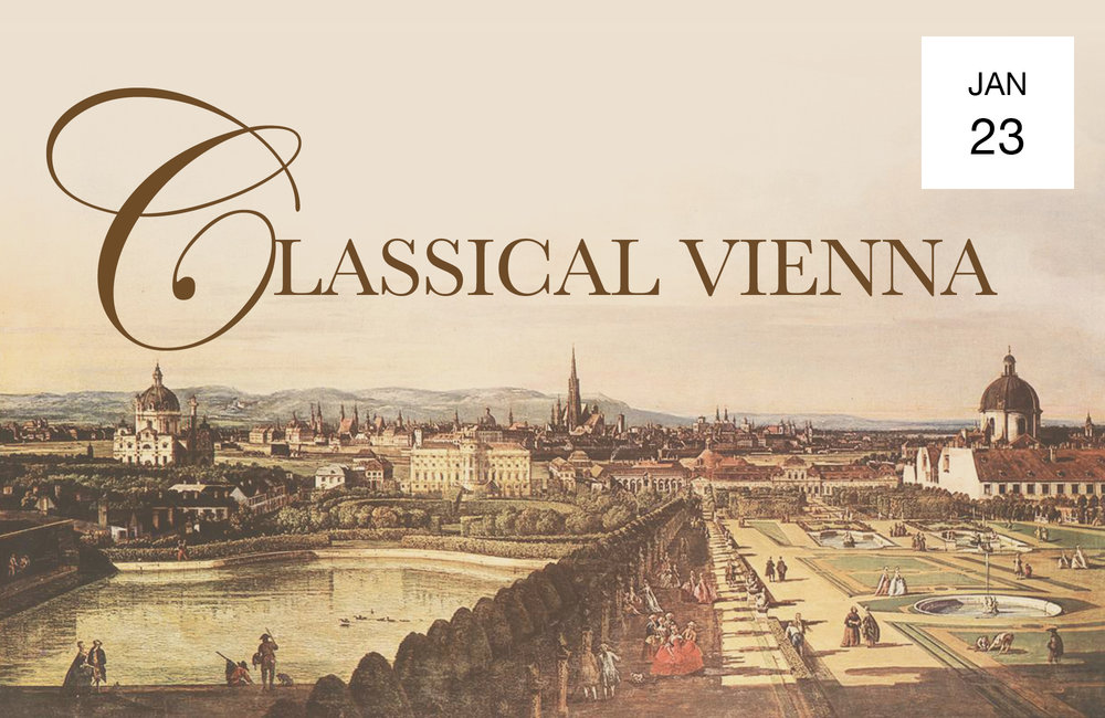 CLASSICAL VIENNA - Wednesday, January 237:30 PMBohemian National Hall321 E 73rd StreetOrion String QuartetAlexander Bedenko clarinetIllustrated talk by Stephen JohnsonHaydn String Quartet Op. 50 No. 2Mozart Clarinet Quintet in A major, K.581Read MoreTICKETS $45