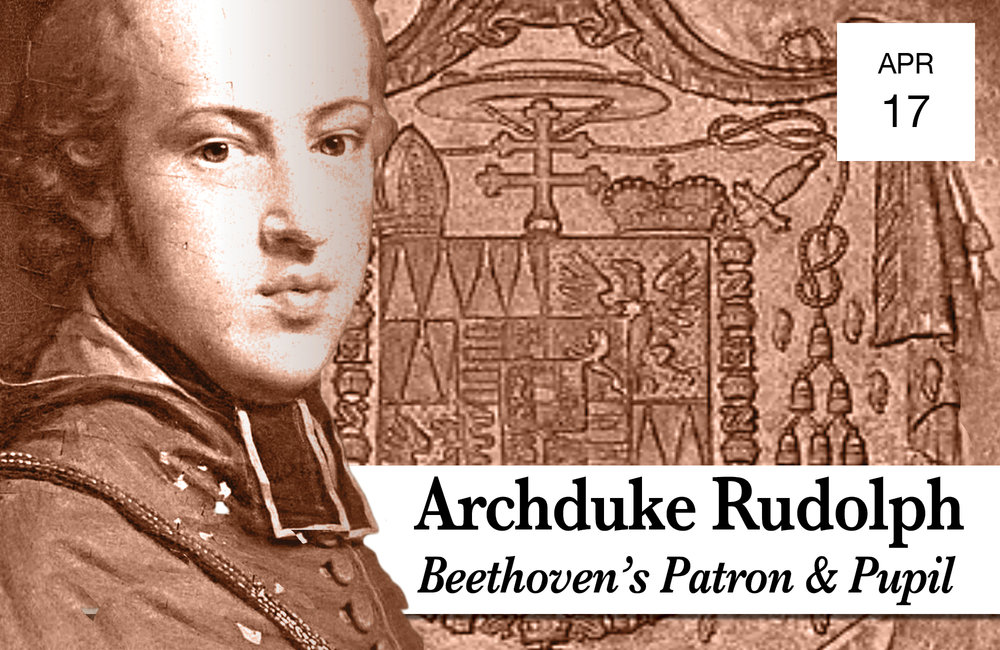 "ARCHDUKE RUDOLF: BEETHOVEN'S PUPIL AND PATRON - Wednesday, April 177:30 PMBohemian National Hall321 E 73rd StreetIgnat Solzhenitsyn pianoKorbinian Altenberger violinNa-Young Baek celloBeethoven Violin Sonata No.10 in G major, Op.96Beethoven Piano Trio in B-flat major, Op. 97 ""Archduke""Read MoreTICKETS $45"