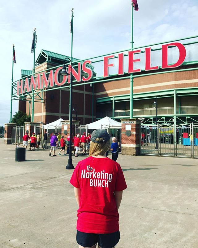Spotted at @springfield_cardinals: The Marketing Bunch!