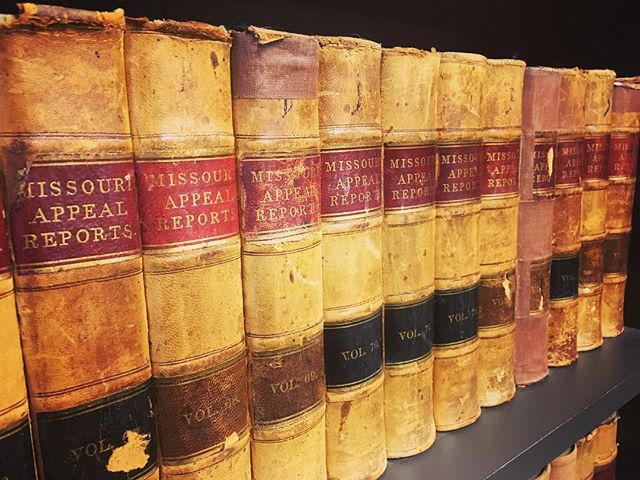 When we work with law firms we LOVE to check out their vast collection of old books! Aren't these beautiful?! 😍 #TheMarketingBunch