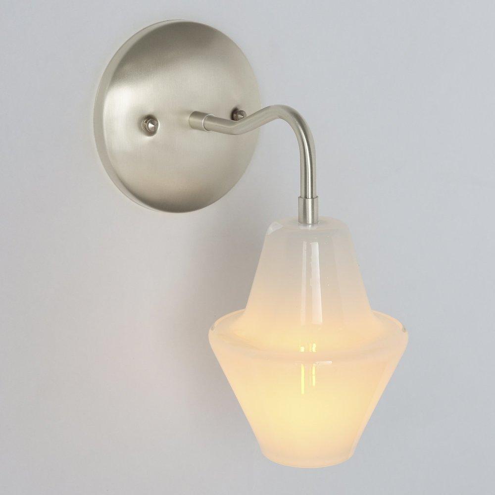 Handblown glass lighting