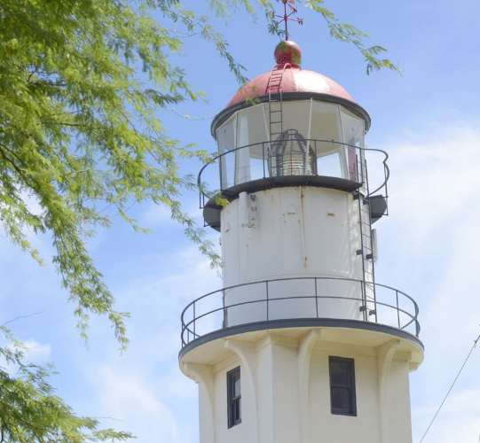 US Coast Guard  Diamond Head light (Honolulu, Hawaii)