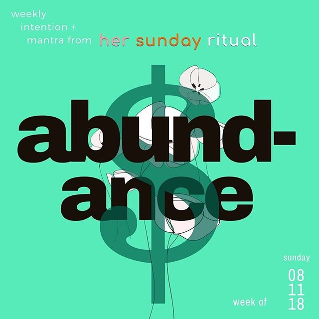 what are the benefits of an abundance mindset?⠀ .⠀ 1️⃣ live an unlimited, full, and satisfying life⠀ 2️⃣ exude happiness despite circumstance⠀ 3️⃣ feel confident, satisfied, plentiful, and inspired⠀ 4️⃣ take full advantage of and enjoy new opportunities ⠀ 5️⃣ create successful outcomes⠀ .⠀ for this week's her sunday ritual on abundance, we're taking notes from @lisa2motivate as we practice mirror work, a confidence-building exercise using our subconscious mind.⠀ .⠀ for guidance on how to practice mirror work and using it to start developing an abundance mindset, click link in bio and check out this weeks full ritual.👉🏿👉🏽⠀ __________________________________________________________⠀ .⠀ .⠀ #hercollectives #hersundayritual #abundance #lisanichols ⠀ ⠀
