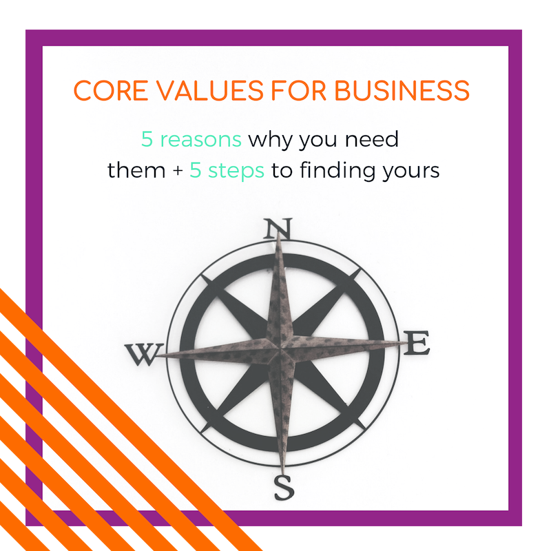 core values for business