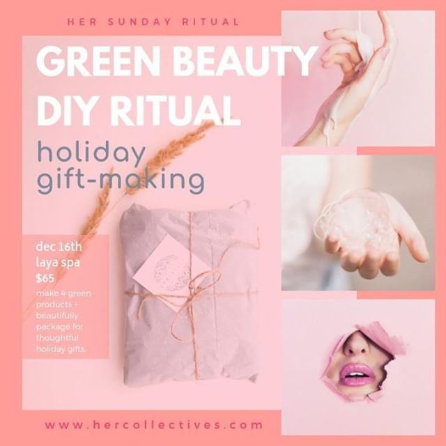 Do you have any holiday gifts yet to figure out? Want to do something thoughtful? Join us to make herbal infused body oil and matching bath salt soak gifts and learn how to avoid harmful ingredients in your products and how to make some of your own. As well, how to be more eco-friendly with your beauty routine. . Not too late to snag your spot! _________________________________________________________ . . . #greenbeauty #cleanbeauty #torontoevents #diygifts #giftmaking #holidays #mindbodysoul #spiritualquotes #spiritjunkie #wellnesstips #wellnessblogger #wellnesswarrior #wellnesscoach #wellnessjourney #womensupportingwomen #personalgrowth #girlslovetravel #torontolife #spiritualgangster #spiritualgrowth #intentionsetting #selfcarematters #selfcaretips #meditation #mindfulness #loveandlight #mindbodygreen #thelittlethings #quotestoliveby #quoteoftheday
