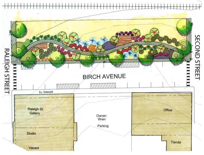 Birch Avenue Greenway connection