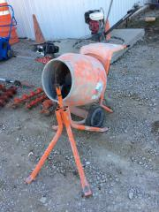 Concrete Electric Mixer w/ Stand