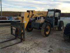 Forklift, GEHL RS8-42 Long-Reach 8000 LB