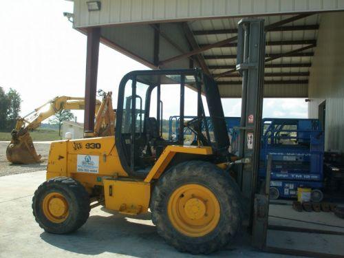 Forklift, JCB 6000 lb Rough Terrain