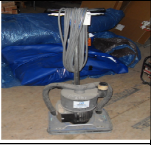 "Floor Sander, Electric 18"" Hardwood"