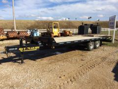 Trailer, Rice Car Hauling Tandem Axle