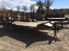 Trailer, Rice Black Tandem Axle
