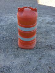 Safety Barrel, Orange