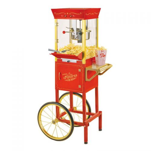 Popcorn Maker on Cart