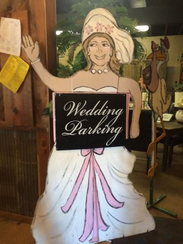 Bride Yard Sign