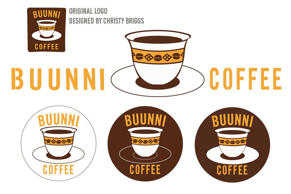 Reworked Logo for Buunni Coffee