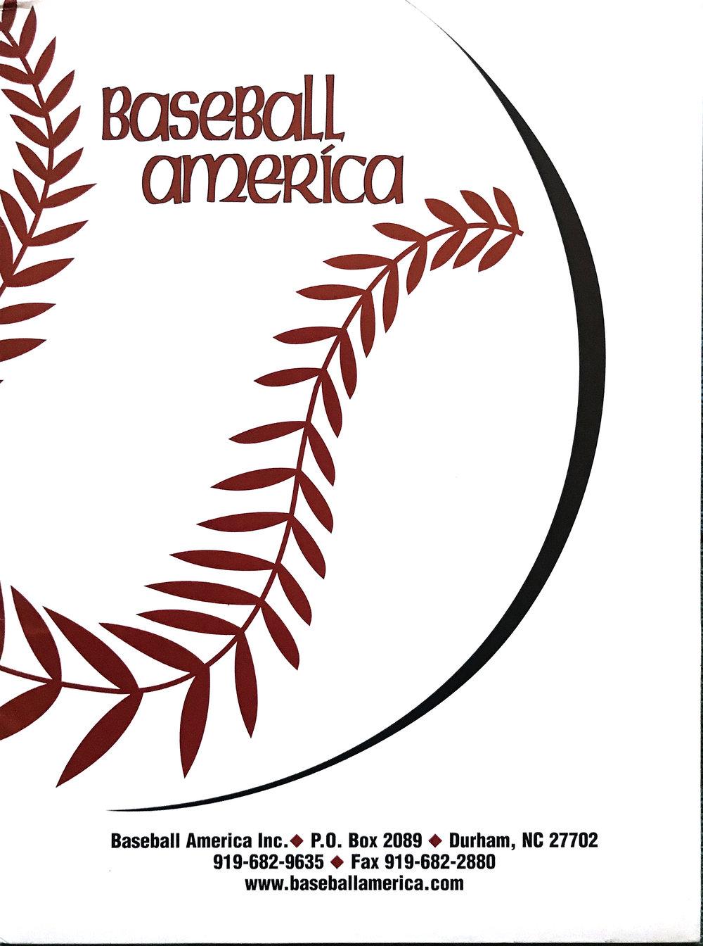 Baseball America Promotional folder