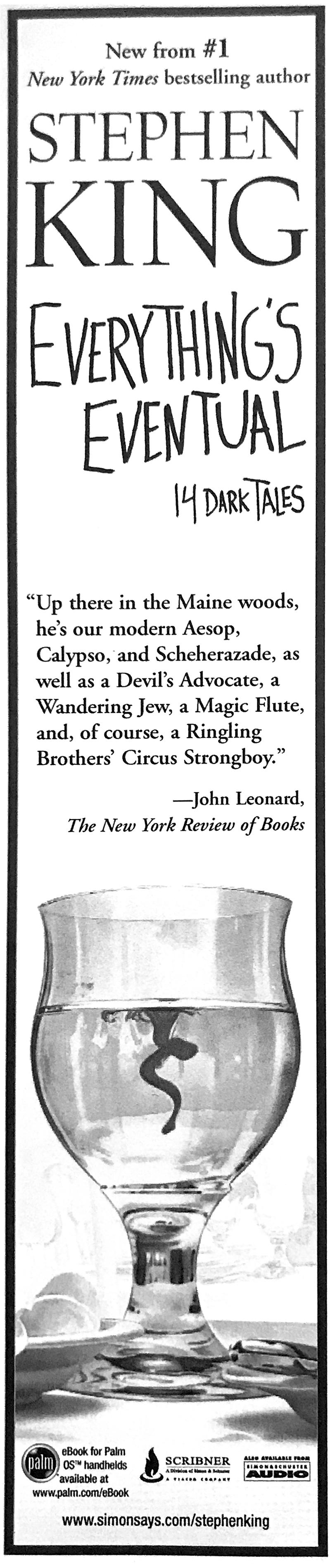 Simon and Schuster Book Ad