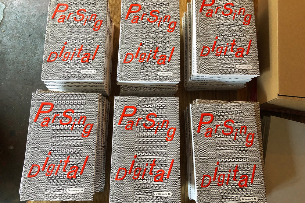 PARSING DIGITAL - New book release: Conversations in digital art by practitioners and curators. Edited by Sally Golding. Published by Austrian Cultural Forum.