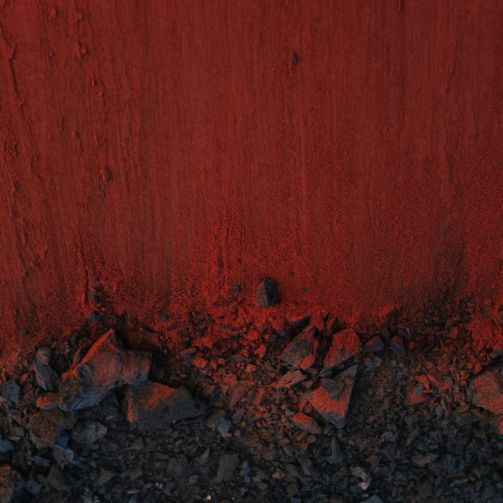 Black in deep red, 2014   Moses Sumney, 2018