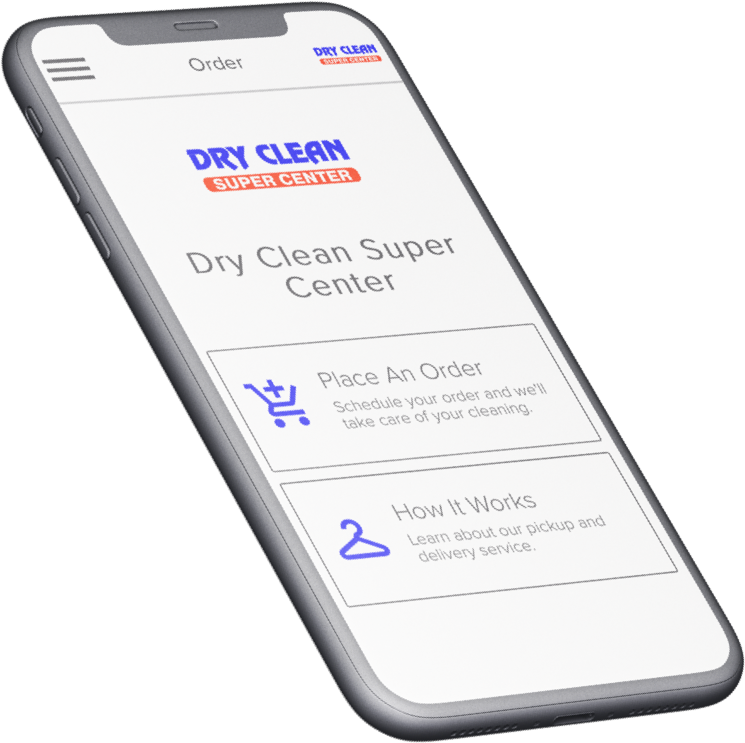 Dry Cleaning in Your PocketEasily schedule a pickup, track your order, and pay seamlessly using our app. -