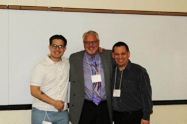 Bob with Keynote Speakers.jpg