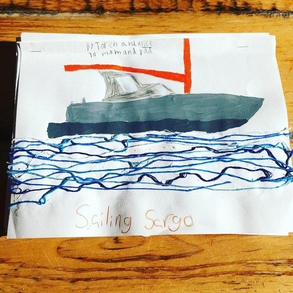 Sailing Sargo by Alice & Toren