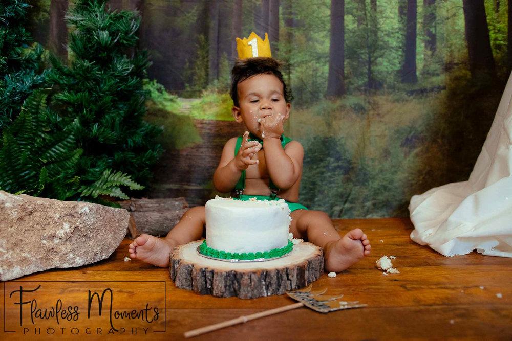 Cake Smash & splash -