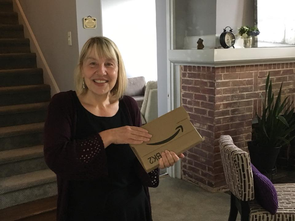 First copy of the book arrives! - It took a long time to get to this point. To read more about Kristine's personal and professional path, click below: