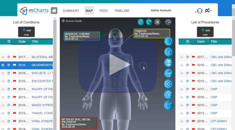 Setup automatic health records - Connect mCharts to your patient portal to make it so your records are automatically synced with the app