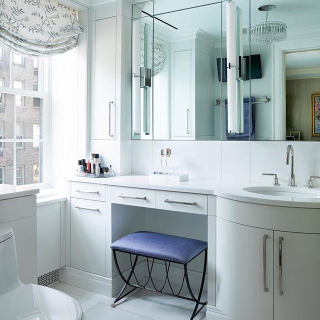 @sek_architect designed #bathroom #parkavenue #apartment #purple #white #vhzdesign #luxury @davidhartz