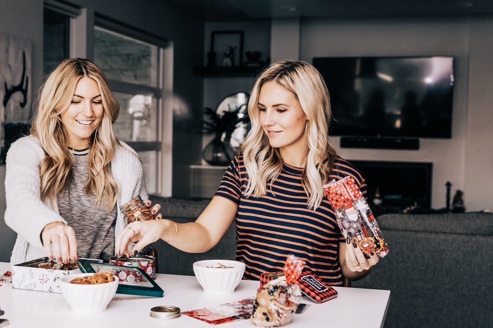 Salty Blondes | Christmas Candies