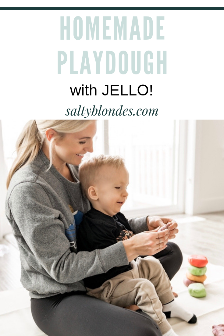 Salty Blondes | Jello Playdough