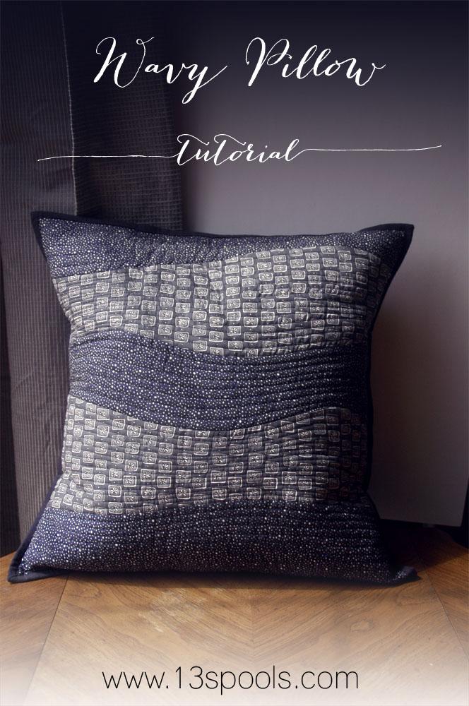 Wavy Pillow Tutorial B