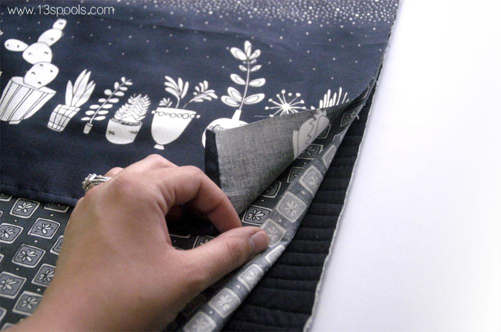 Wavy Pillow tutorial 15