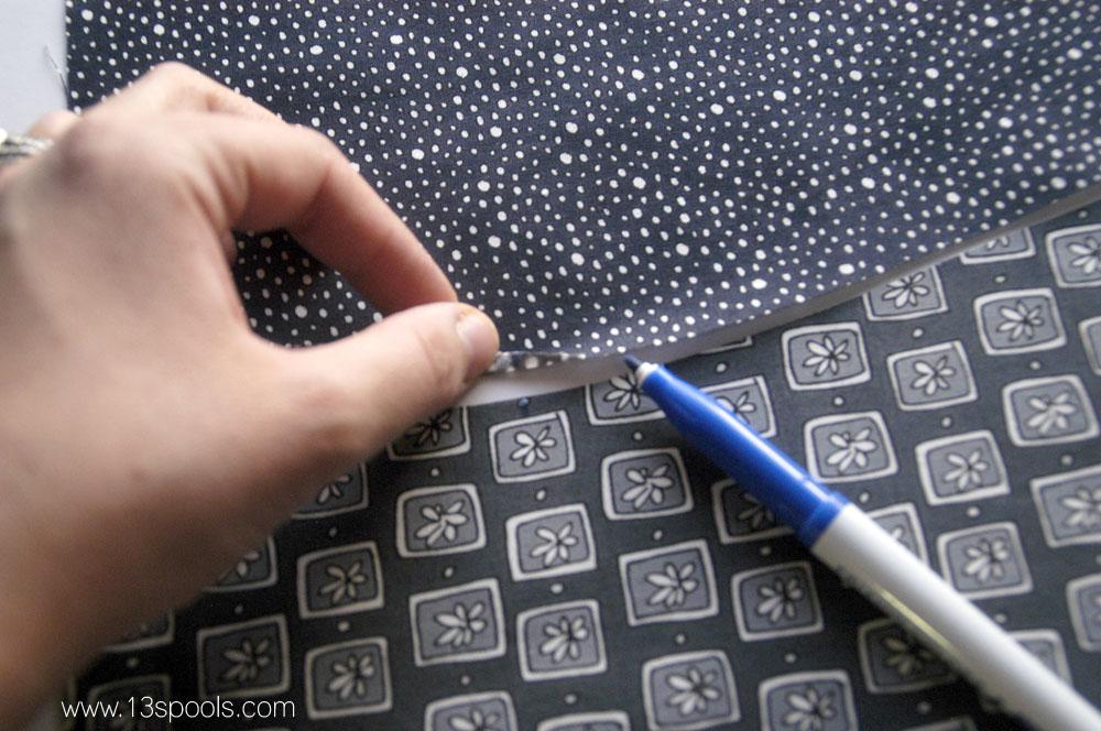 Wavy Pillow tutorial 6