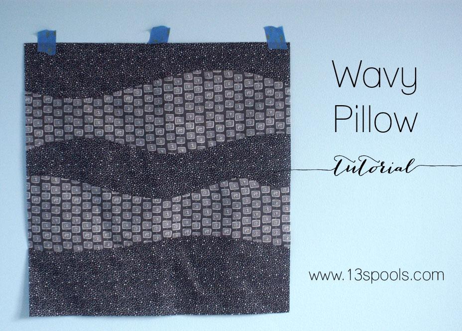 Wavy Pillow tutorial