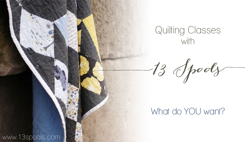 quilting classes with 13 spools copy