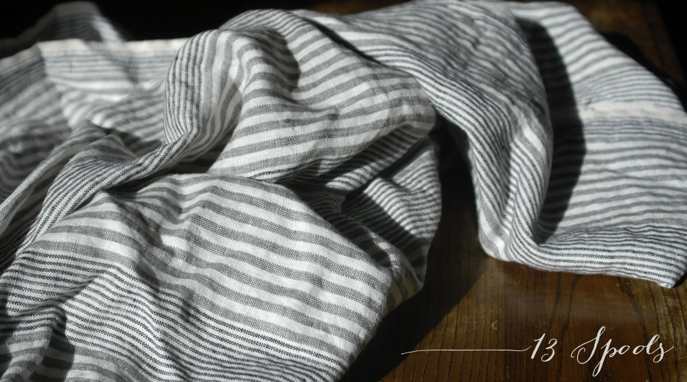 stashing linen