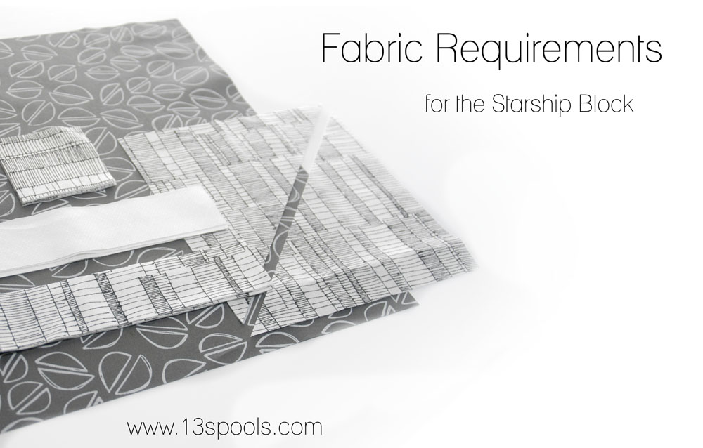 fabric requirements for the starship block