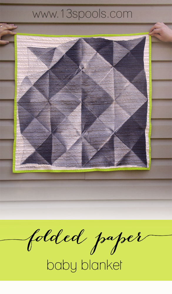 folded paper baby quilt 1 copy