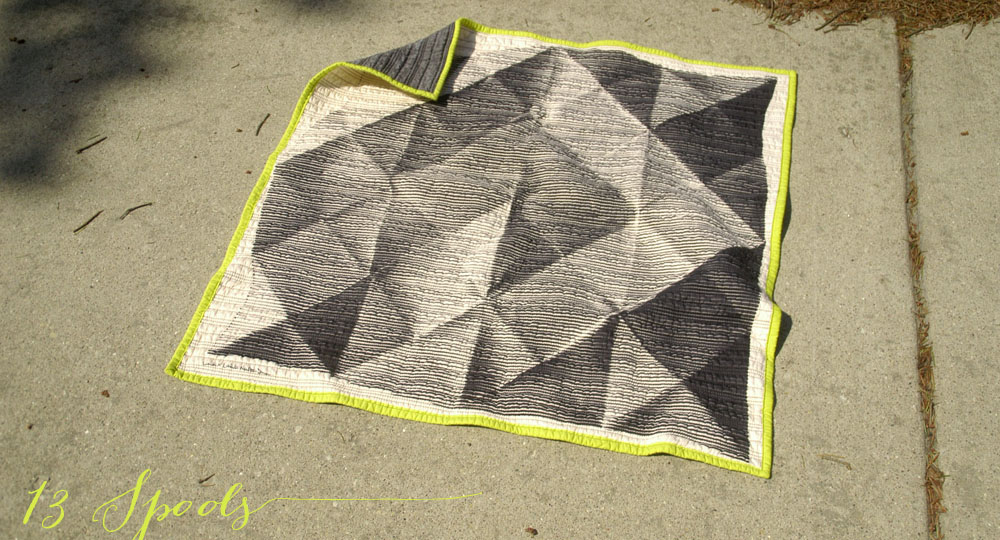 folded paper baby quilt 3
