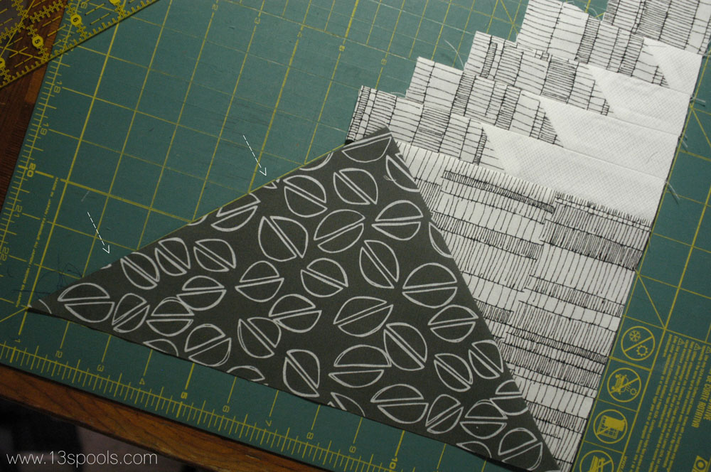 starship quilt block tutorial 16