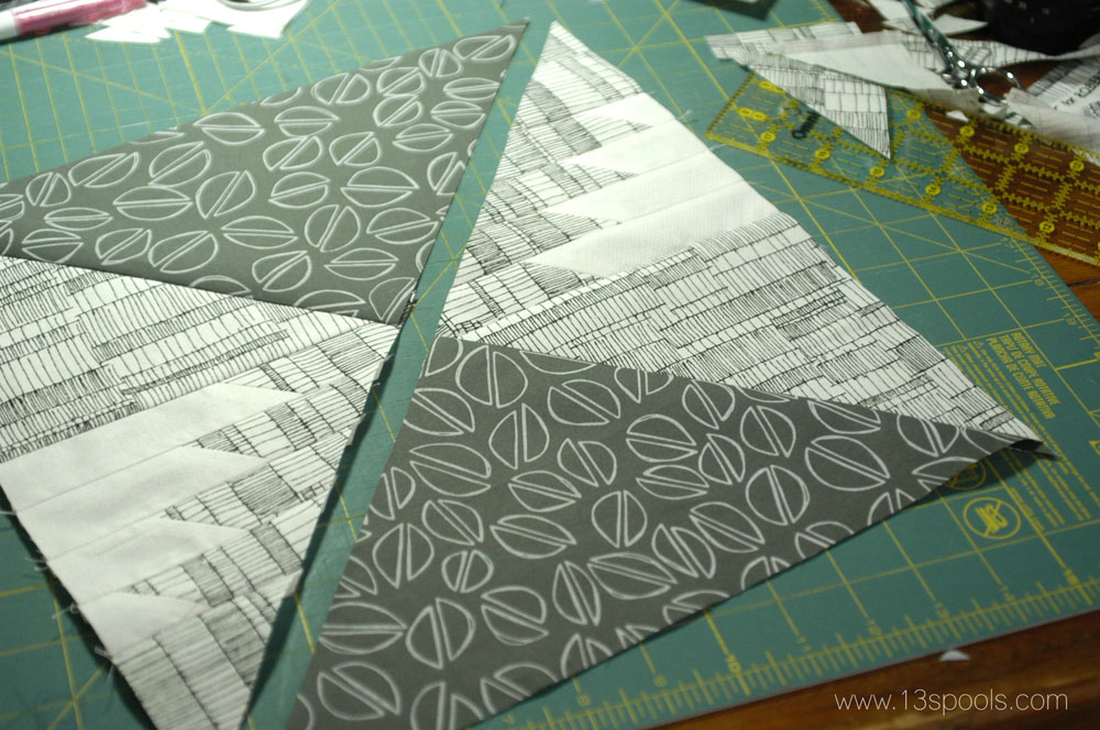 starship quilt block tutorial 17