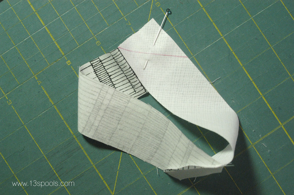 starship quilt block tutorial 4
