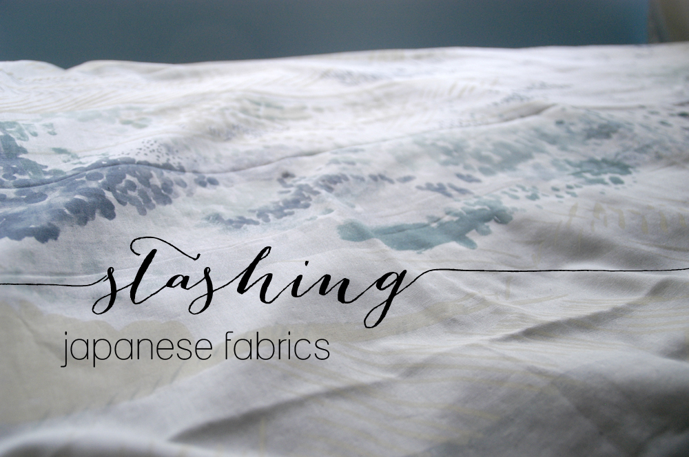 stashing japanese fabrics