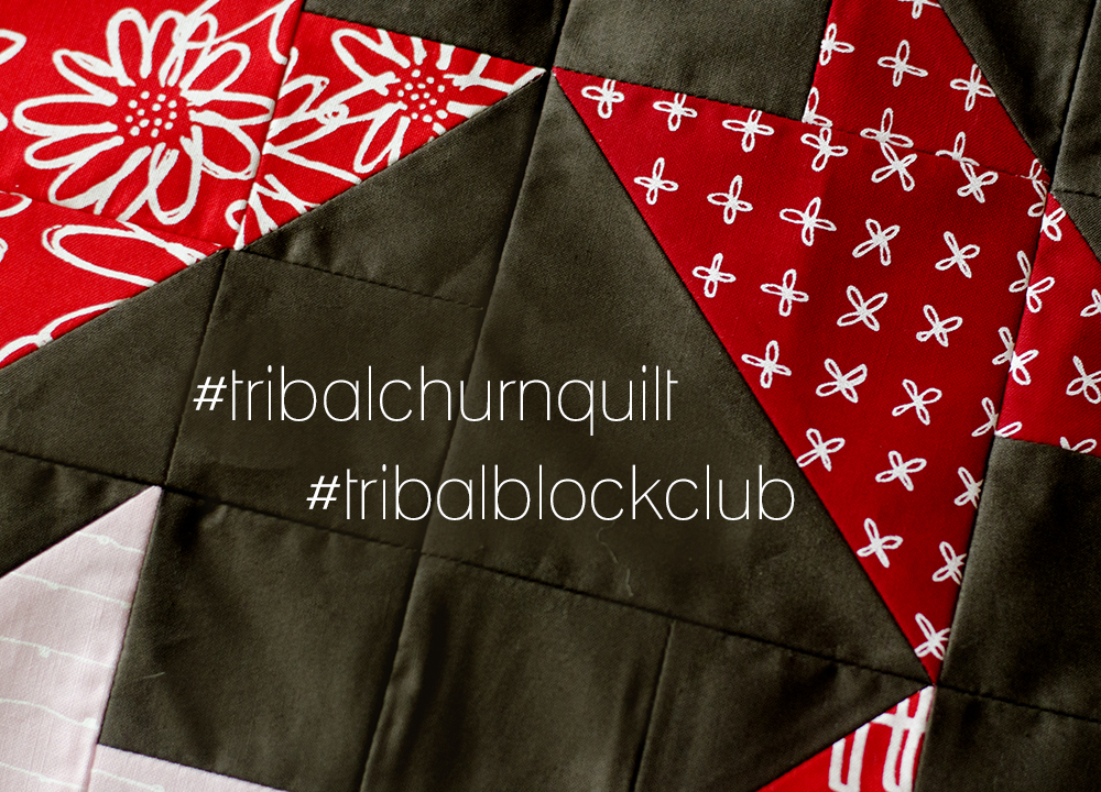 tribal churn quilt 1